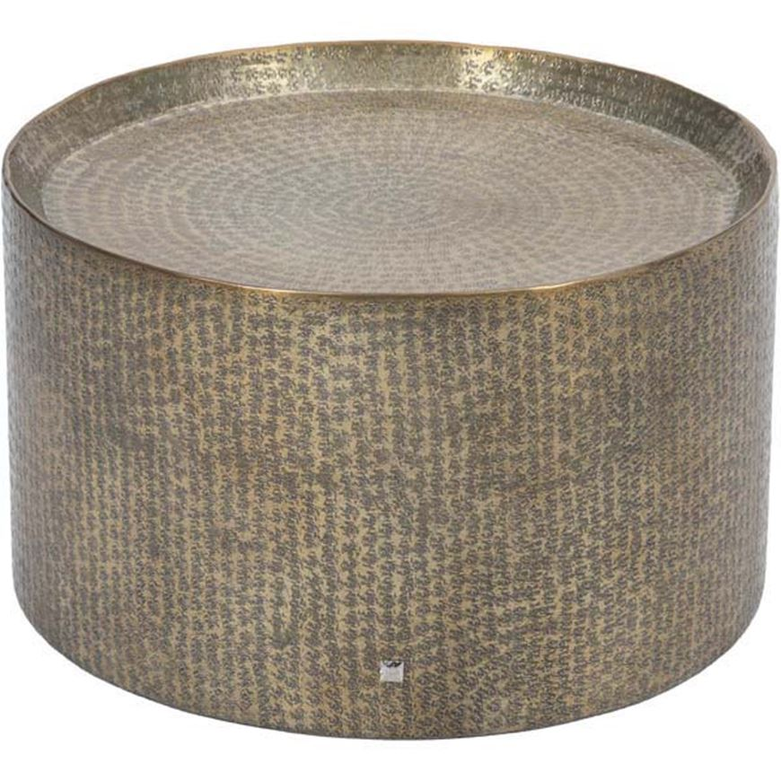 Picture of MASON coffee table d60cm brass