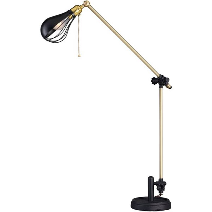 TAMPA table lamp h52cm black/brass