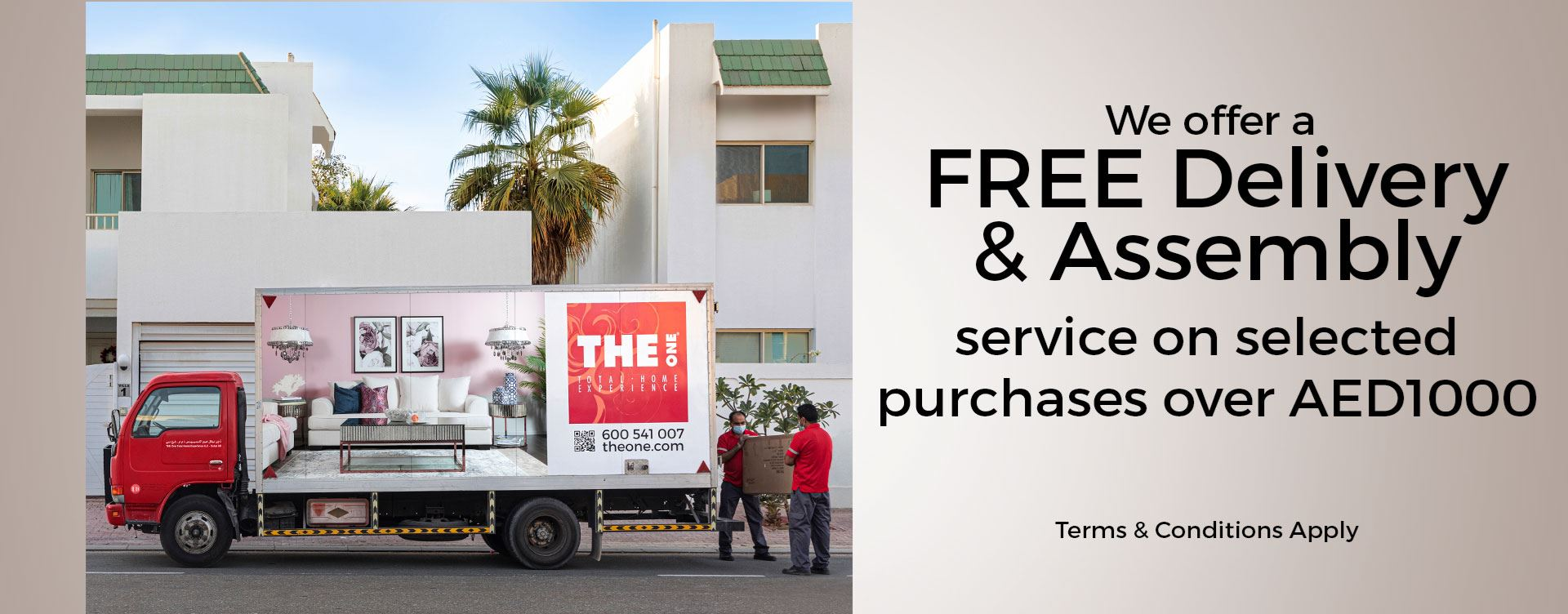 THE One Delivery & Assembly - UAE