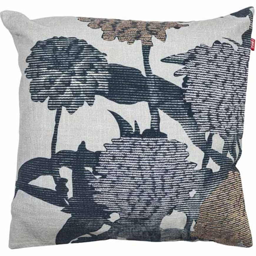 Picture of AMALIA cushion cover 45x45 blue/grey