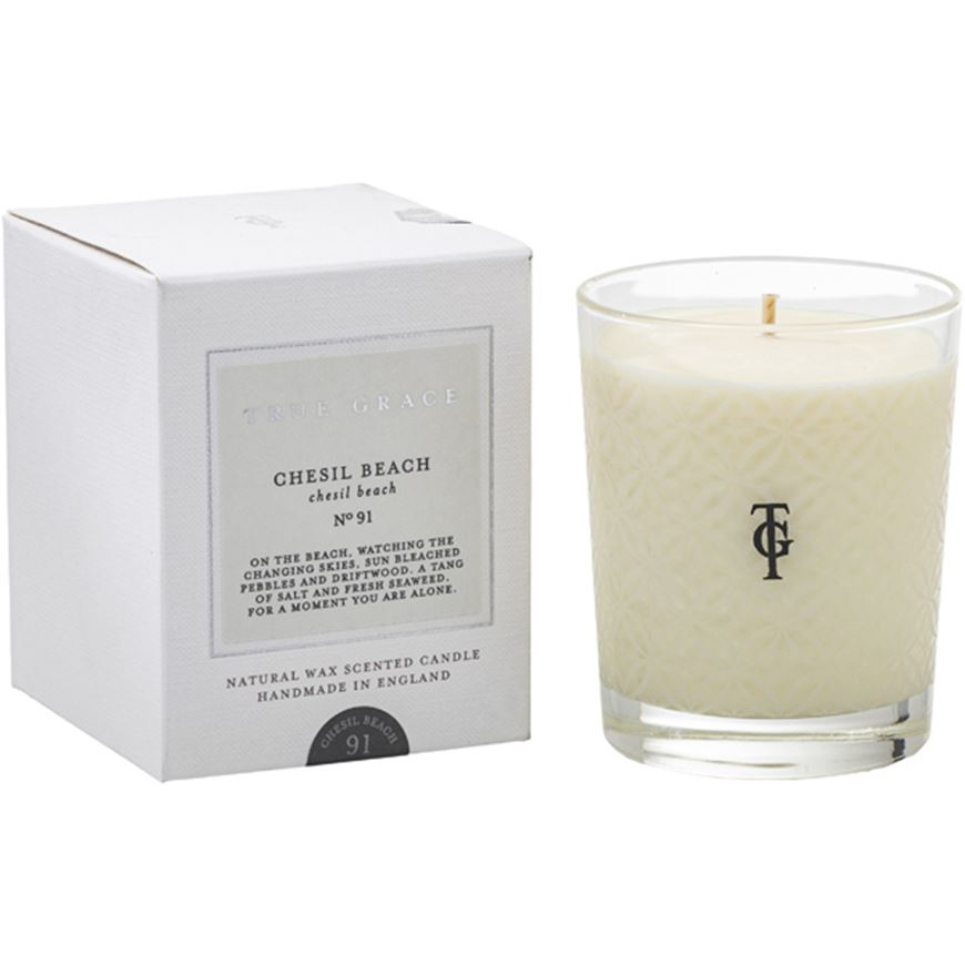 Picture of CHESIL BEACH candle small clear