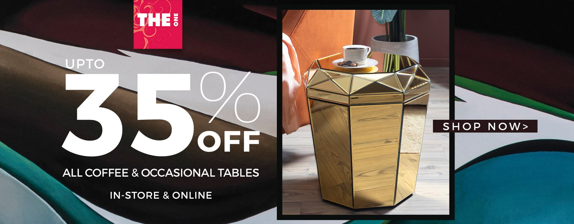THE One Coffee Table Sale  UAE
