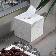 ADANA tissue box 13x14 white