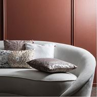 LATTICE cushion cover 45x45 silver