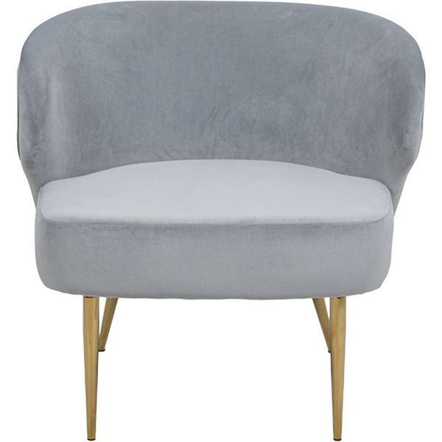 WINGUA wing chair silver