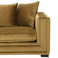 KARL sofa 2.5 + chaise lounge Left brown