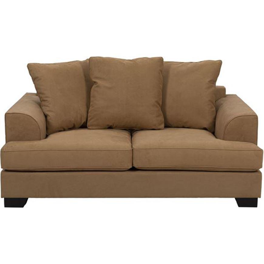 KINGSTON sofa 2 microfibre light brown