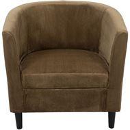 LAD armchair light brown