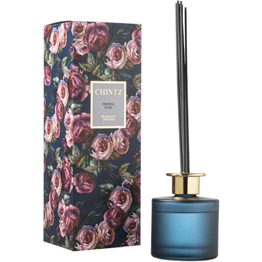 Picture of CHINTZ Freesia Rose diffuser 150ml blue