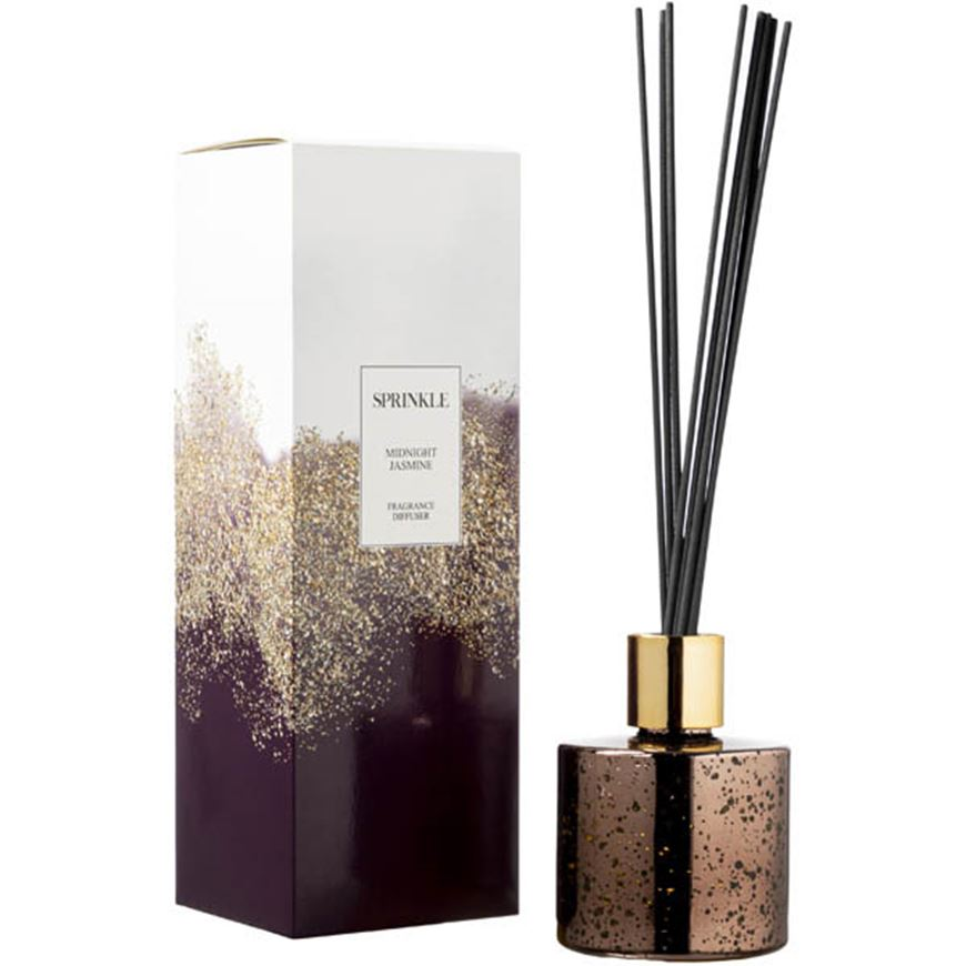 Picture of SPRINKLE Midnight Jasmine diffuser 150ml brown