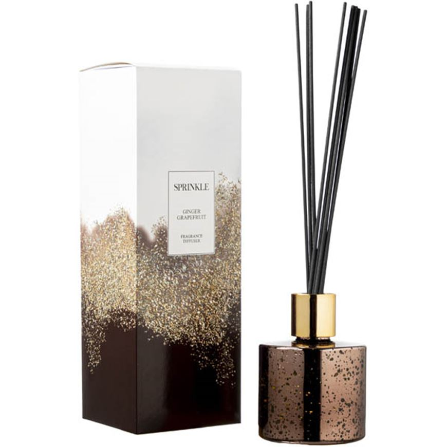 Picture of SPRINKLE Ginger Grapefruit diffuser 150ml brown