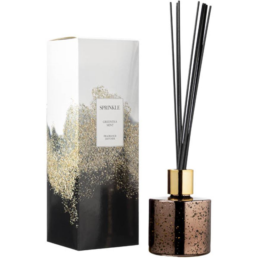 Picture of SPRINKLE Greentea Mint diffuser 150ml brown