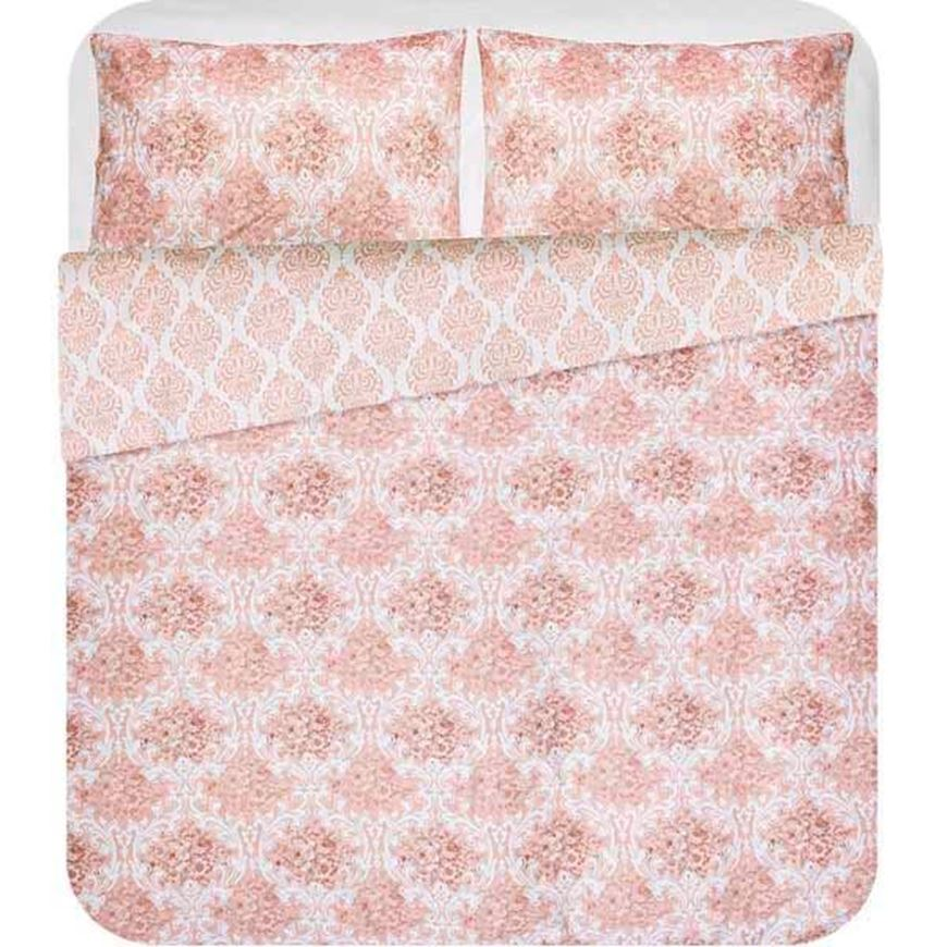 CARLA duvet cover set of 3 pink